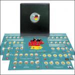 SAFE 7345 PREMIUM 2 EURO MÜNZALBUM Deutsche Bundesländer + 6x farbige Vordruckblätter + 6x 7392 Münzblätter 2006 - 2021