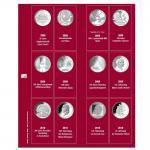 SAFE 7342-4 Premium Münzblätter Ergänzungsblätter Münzhüllen 7392 mit Vordruckblättern Deutsche 10 Euro Gedenkmünzen 2008 - 2010