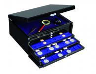 SAFE SET 6590 Schubladen Schatulle Classic KABINETT Sammelkassette + Ablagefach + 6 Schubladen Standard FREIE AUSWAHL