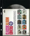 10 x LINDNER MU1311 Schwarze Multi Collect Einsteckblätter 1 Tasche 189 x 253 mm für Briefe Blocks Briefmarken ETB FDC