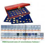 SAFE 5783 Premium WURZELHOLZ Münzkassetten mit 3 Tableaus FREIE Auswahl aus 27 Modellen