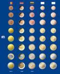 1x SAFE 7817-5 TOPset Münzblätter Ergänzungsblätter 5 x Euromünzen KMS Kursmünzensätze Andorra & Lettland