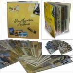 SAFE 7920 Postkartenalbum Sammelalbum Ringbinder mit 20 Hüllen für 160 Ansichtskarten Postkarten