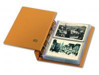 SAFE 7886 Luxus Skai Compact Postkartenalbum Banknotenalbum mit 20 Blättern 7869 erweiterbar bis 300 alte Postkarten Banknoten