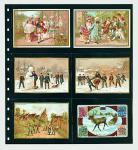 5 x SAFE 7733 Einsteckblätter Spezialblätter Favorit Schwarz 6 Taschen 125 x 95 mm Für 12 Spielkarten - Tradingcards - Liebig Bilder