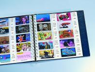 5 x SAFE 7555 Ergänzungsblätter Telefonkarten Visitenkarten für Album 7579