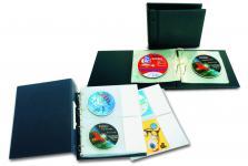 SAFE 486 SAFE Compact A4 CD Album Blau mit 10 Blättern für 40 CD 's DVD Blue Ray