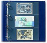 10 SAFE 453 Ergänzungsblätter Spezialblätter Compact A4 3 schwarze Taschen 220 x 97 mm Weinetiketten