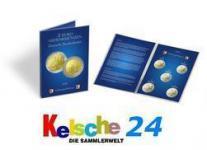 LEUCHTTURM Sammelkarten 5x2 EURO Schweriner Schloß