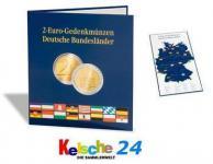 """LEUCHTTURM Münzalbum Presso 2 EURO Collection 2 Euromünzen für die Serie"""" Deutsche Bundesländer 300408 - EUROCOL2EUD"""