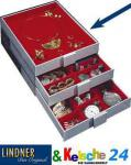 Lindner 2401 Sammelboxen - Sammelbox ohne Facheinteilung Standard Grau