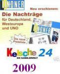 LINDNER Nachträge Schweiz Kleinbogen 2009 T260K