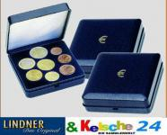 LINDNER Münz-Etui für Euro-Kursmünzensatz 8 Münzen