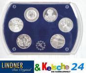 LINDNER Münz-Etui 6 x 10 Euromünzen Gedenkmünzen 84