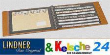LINDNER Ringbinder 5510 braun leer DIN A3 im Querfo