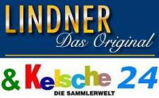 LINDNER Ringbinder-Set Exklusiv A4, braun Nr.1120A4