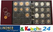 Lindner Multi collect binder +5 Münzbl +20 Münzen-O