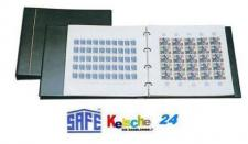 SAFE 1250 Bogenalbum Schwarz mit 10 Blättern 6030 = 20 Bogen Innenmaß 265 - 320 mm