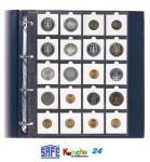 SAFE Münzhüllen für Münzrähmchen A4 Format 5 St-2