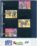 10 x SAFE 462 Comapct A4 Einsteckblätter Hüllen Spezialblätter Für 20x Ü Eier Puzzles & Beipackzettel
