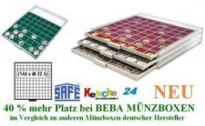 SAFE BEBA MÜNZBOXEN MB6106B GRÜN US EAGLE Dollar +B