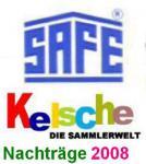 SAFE dual Nachträge Deutschland Zusammendrucke 2008