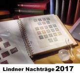LINDNER 120BK-17I-2017 Nachtrag Nachträge Vordrucke Deutschland Teil 1 Zehnerbogen 2017 + BONUS