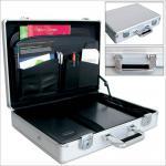 "SAFE 275 ALU Notebook - Netbook - Laptop Office Koffer "" Silver Star MAXI "" 18"""