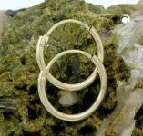 Creolen Goldcreolen 333 er 8 kt. 13 mm