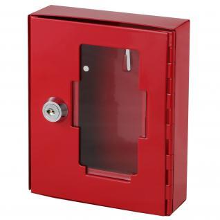 HMF 1020-03 Notschlüsselkasten, 15 x 12 x 4 cm, rot