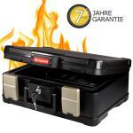 Honeywell 250418 Feuerfeste Dokumentenkassette DIN A4, 40, 7 x 32 x 16, 6 cm, schwarz