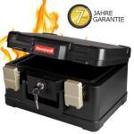 Honeywell 2511102 Feuerfeste Dokumentenkassette DIN A5, 30, 9 x 24, 9 x 17, 8 cm, schwarz