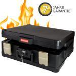 Honeywell 2511302 Feuerfeste Dokumentenkassette XL, 50, 7 x 43, 6 x 18, 7 cm, schwarz
