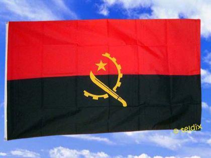 Flagge Fahne ANGOLA 150 x 90 cm - Vorschau