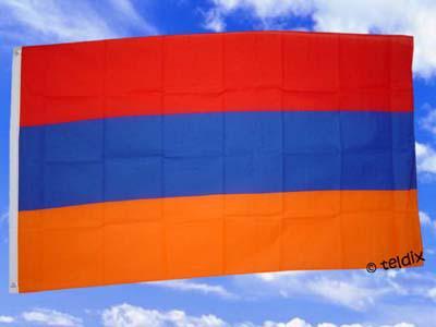 Flagge Fahne ARMENIEN 150 x 90 cm - Vorschau