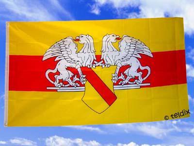 Flagge Fahne BADEN GROSSHERZOGTHUM 150 x 90 cm - Vorschau