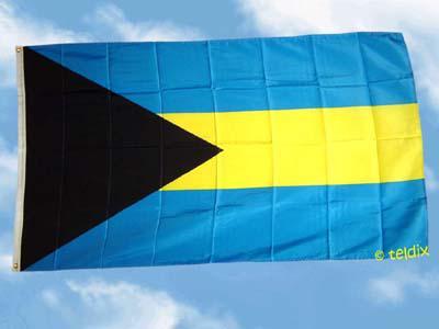 Flagge Fahne BAHAMAS 150 x 90 cm - Vorschau