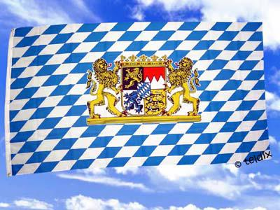 Flagge Fahne BAYERN BAVARIA 150 x 90 cm