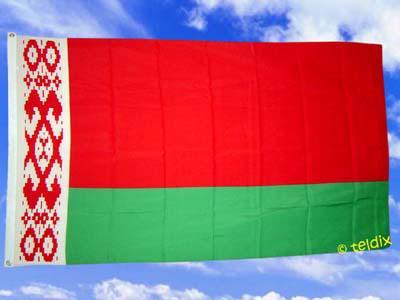 Flagge Fahne BELARUS WEISSRUSSLAND 150 x 90 cm - Vorschau