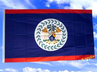 Flagge Fahne BELIZE 150 x 90 cm