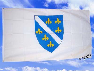 Flagge Fahne BOSNIEN 150 x 90 cm - Vorschau