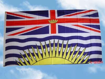 Flagge Fahne BRITISH COLUMBIA 150 x 90 cm