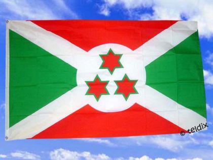Flagge Fahne BURUNDI 150 x 90 cm