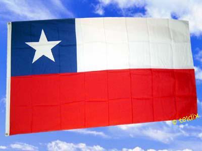 Flagge Fahne CHILE 150 x 90 cm - Vorschau