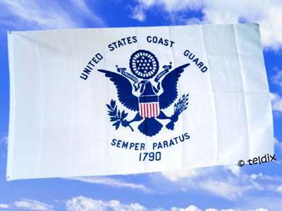 Flagge Fahne COAST GUARD 150 x 90 cm - Vorschau