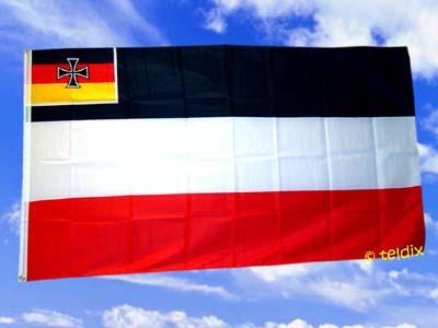 Flagge Fahne D. REICH HANDELSFLAGGE 150 x 90 cm