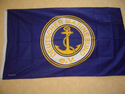 Flagge Fahne DEUTSCHER MARINEBUND 150 x 90 cm - Vorschau