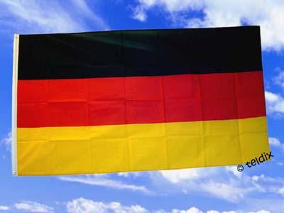 Flagge Fahne DEUTSCHLAND 150 x 90 cm - Vorschau