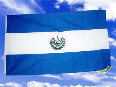 Flagge Fahne EL SALVADOR 150 x 90 cm - Vorschau