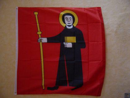 Flagge Fahne GLARUS 120 x 120 cm